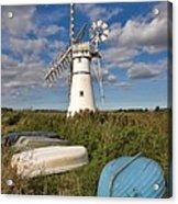 Thurne Dyke Windpump Norfolk Acrylic Print