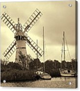 Thurne Windmill IIi Acrylic Print
