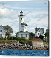 Tibbet's Point Lighthouse Lake Ontario Acrylic Print