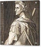 Tiberius Caesar Acrylic Print by Titian