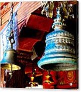Tibetan Bells Acrylic Print