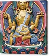 Tibetan Buddhist Deity Acrylic Print