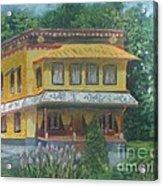 Tibetan Monastery Acrylic Print
