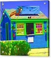 Ticket Shack Acrylic Print