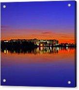 Tidal Basin Sunrise Acrylic Print by Metro DC Photography