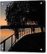 Tidal Basin Sunset0259 Acrylic Print