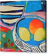 Tiddly Winks Acrylic Print by Diane Fine