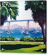 Tide Lands Park Coronado Acrylic Print