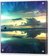 Tidepool Siesta Key Acrylic Print by Alison Maddex