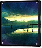 Tidepool Siesta Key II Acrylic Print