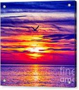 Tie Dyed Sky Acrylic Print