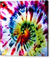 Tie Dyed T-shirt Acrylic Print