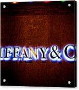 Tiffany And Co Acrylic Print