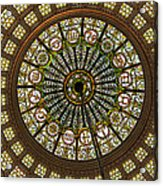 Tiffany Dome Chicago Cultural Museum Acrylic Print