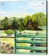 Tiffany Farms East Gate Acrylic Print