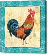 Tiffany Rooster 1 Acrylic Print by Debbie DeWitt