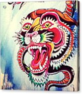 Tiger Snake Acrylic Print