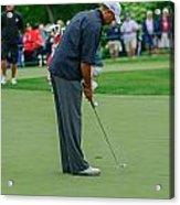 D12w-457 Tiger Woods Acrylic Print