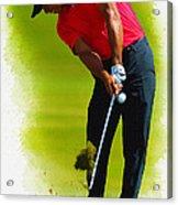 Tiger Woods - The Honda Classic Acrylic Print
