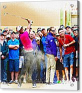 Tiger Woods - The Waste Management Phoenix Open At Tpc Scottsdal Acrylic Print