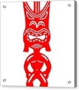 Tiki Acrylic Print