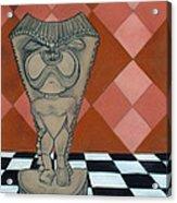 Tiki Statue Art Acrylic Print