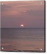 Tiki Sunset 3 Acrylic Print