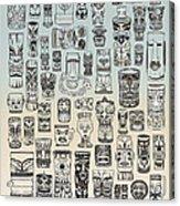 Tiki Time Zone Acrylic Print