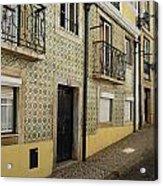 Tile Walls Of Lisbon Acrylic Print