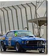 Tilley Racing Mustang Acrylic Print