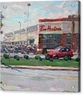 Tim Hortons By Niagara Falls Blvd Where I Have My Coffee Acrylic Print