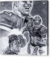 Tim Tebow Acrylic Print by Jonathan Tooley