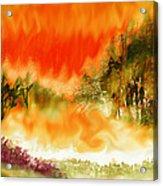 Timber Blaze Acrylic Print