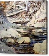 Timber Creek Winter Acrylic Print