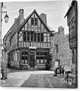 Timber Framed Houses In France Acrylic Print