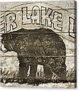 Timber Lake Lodge Acrylic Print