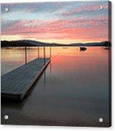 Timberloch Sunset Acrylic Print