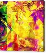 Time As An Abstract Acrylic Print