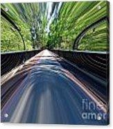 Time Bridge Acrylic Print