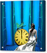 Time Fly Acrylic Print