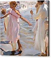 Time For A Bathe Valencia Acrylic Print