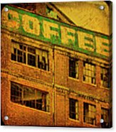 Time For Coffee Acrylic Print