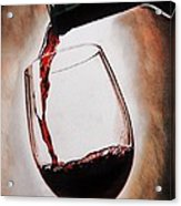 Time For Wine Acrylic Print