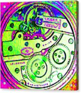 Time In Abstract 20130605m108 Square Acrylic Print