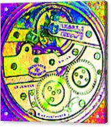 Time In Abstract 20130605m144 Square Acrylic Print