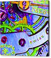 Time In Abstract 20130605p36 Acrylic Print by Wingsdomain Art and Photography