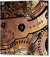 Time In Abstract 20130605rust Long Acrylic Print by Wingsdomain Art and Photography