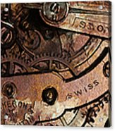 Time In Abstract 20130605rust Acrylic Print