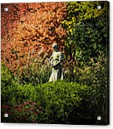 Time In The Garden Acrylic Print