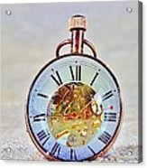 Time In The Sand Acrylic Print